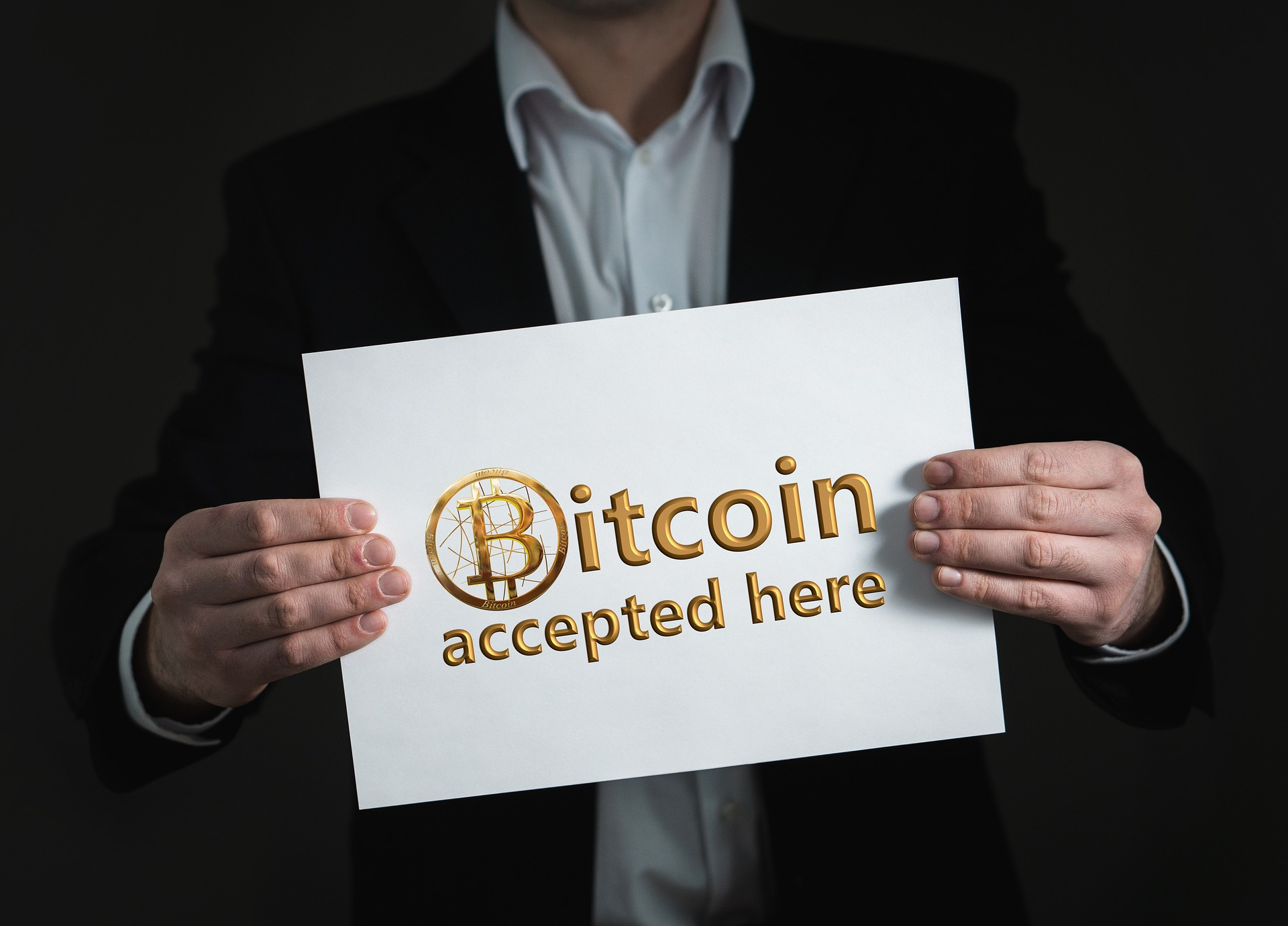 Bitcoin Zahlung akzeptiert